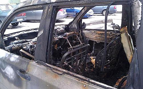Мужчина сжег машину бывшей любовницы